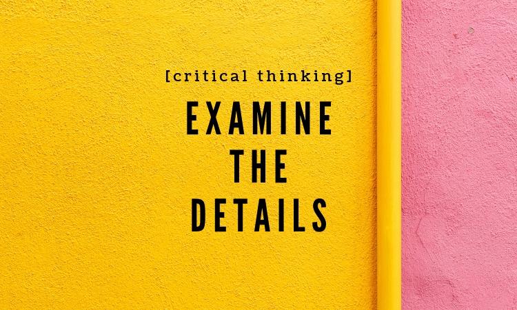 Critical thinking VIA
