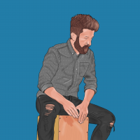 Liam drawing