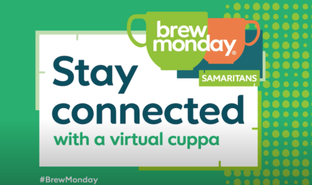 Brew Monday – supporting Samaritans today and every day