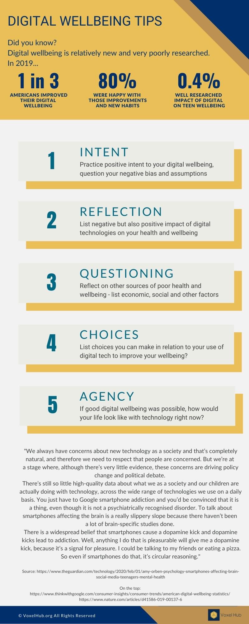 Digital Wellbeing Tips